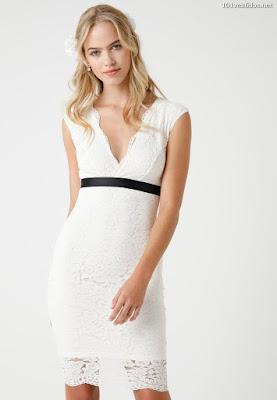 Vestidos cortos blancos