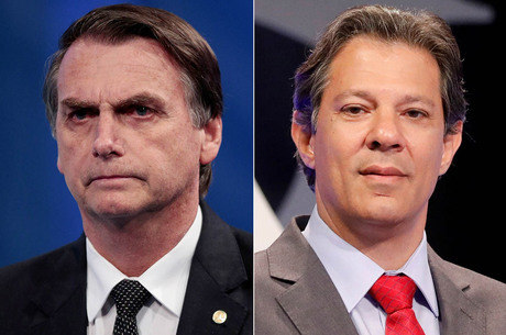 RealTime Big Data: Bolsonaro tem 60% dos votos válidos; Haddad, 40%