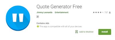 Aplikasi Pembuat Tulisan Keren