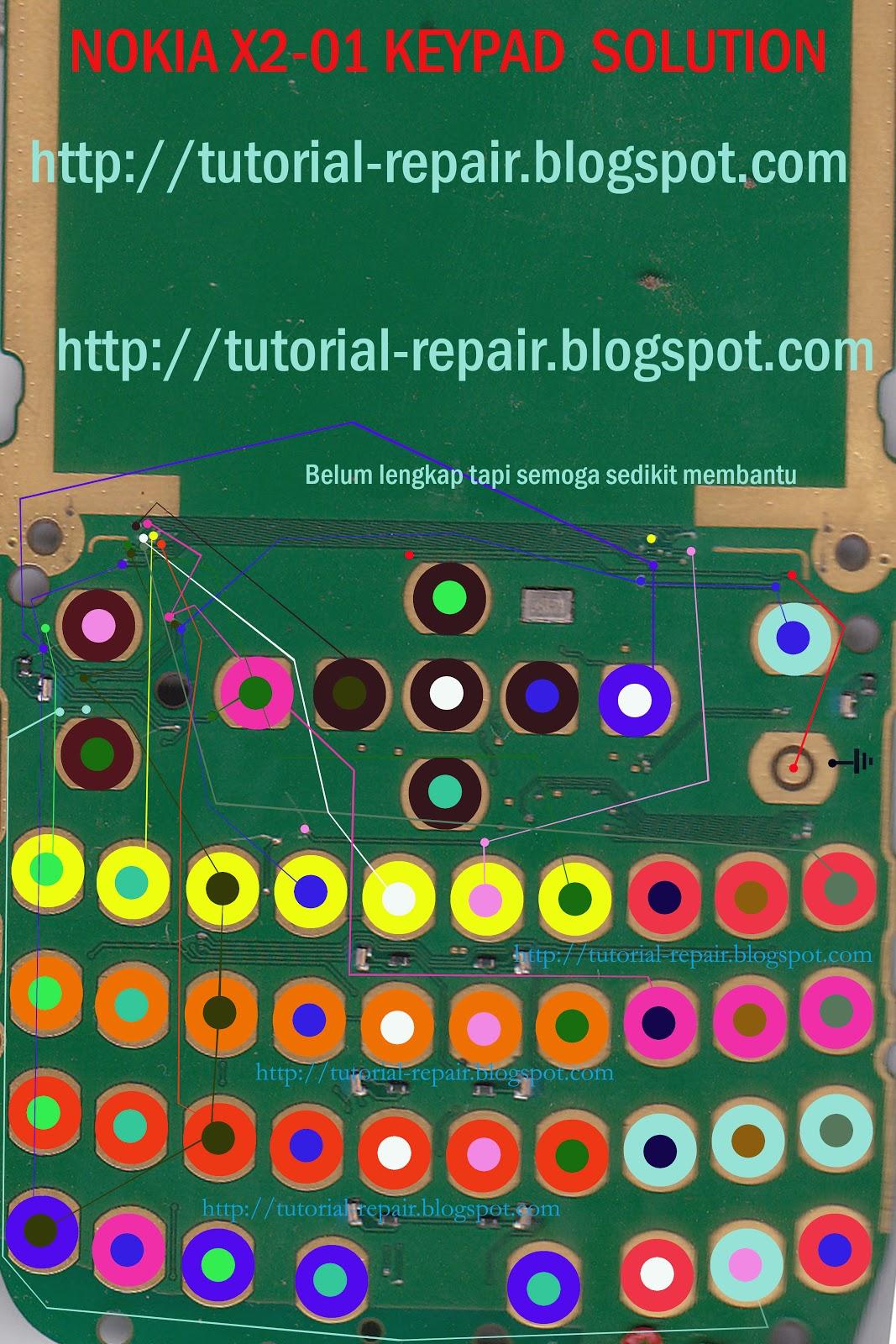 Nokia X2-01 Keypad Solution