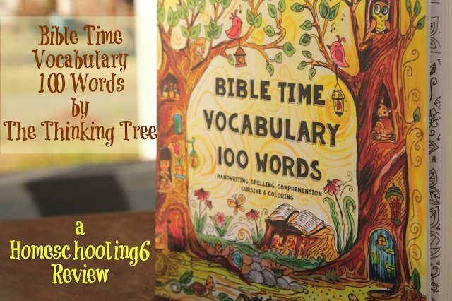 Bible Time Vocabulary by The Thinking Tree a Homeschooling6 Review