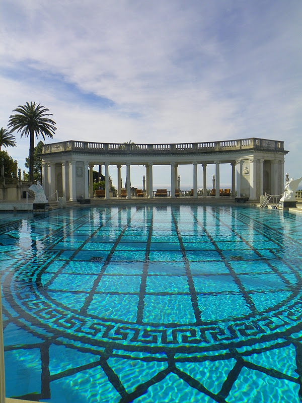 Book junkie hearst castle neptune pool and grounds - Hearst castle neptune pool swim auction ...
