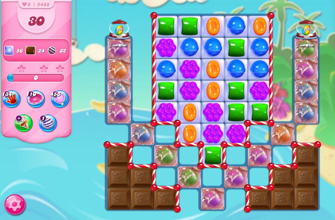 Candy Crush Saga level 5488