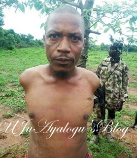 "Army arrests wanted notorious kidnapper Sani Ibrahim ""Burtu"" in Kaduna (Photo)"