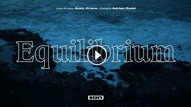 Equilibrium - A short film about Andy Criere