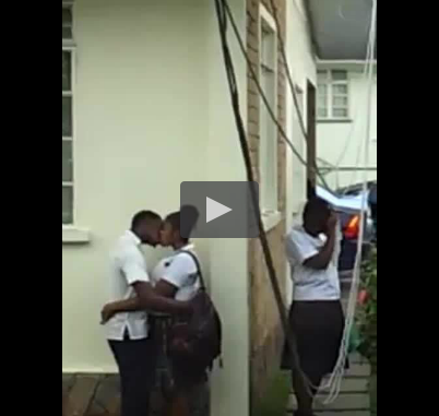 Nigeria secondary school students gives boyfriend blowjob in class - 4 9