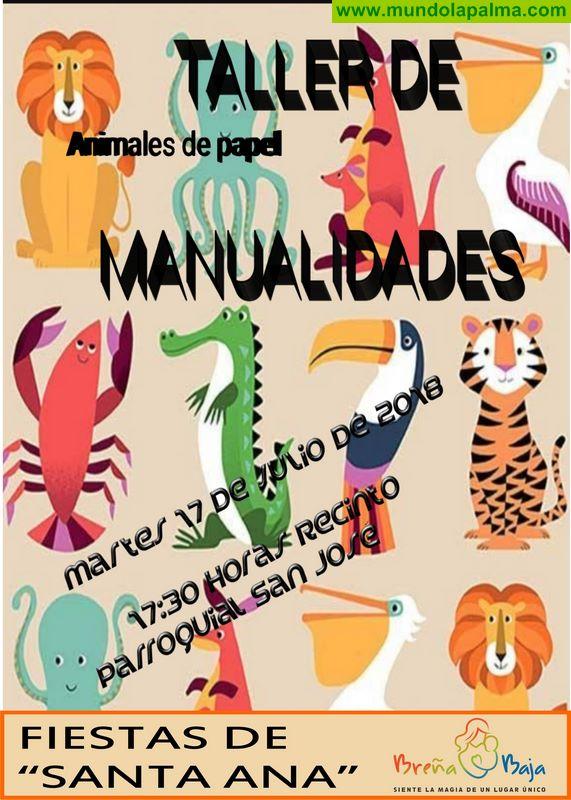 """SANTA ANA: taller de Manualidades """"Animales de Papel"""""""