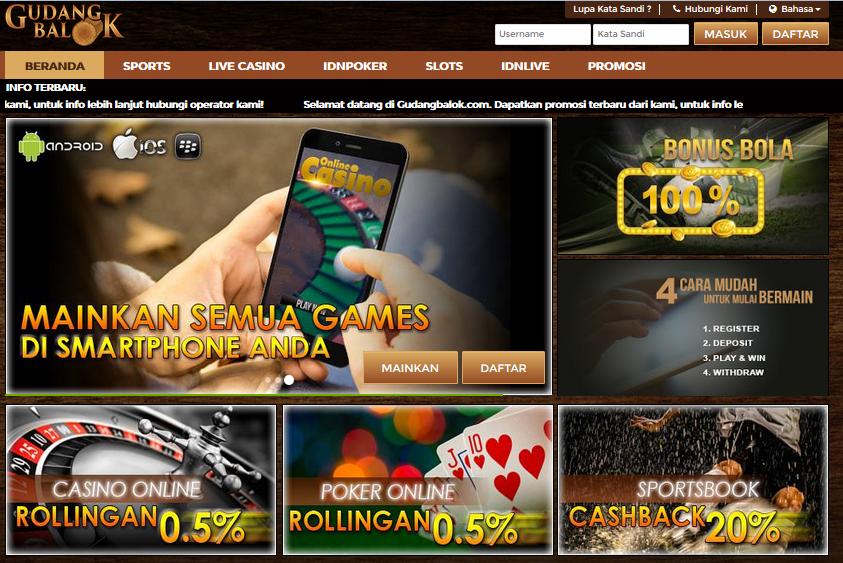 Gudangbalok Situs Agen Game Judi Poker Online Terlengkap