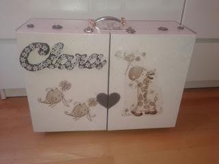 armario personalizado en madera , regalo para bebe, recien nacido