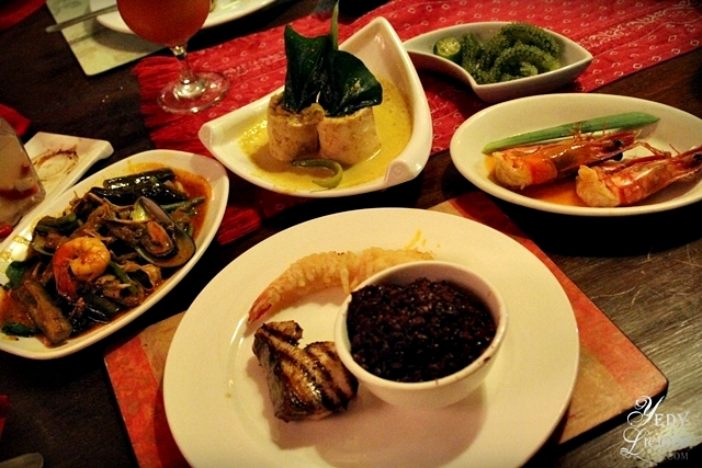 Set Meal Menu at Kalui Restaurant Best Restaurants in Puerto Princesa Palawan Philippines YedyLicious Manila Food and Travel Blog
