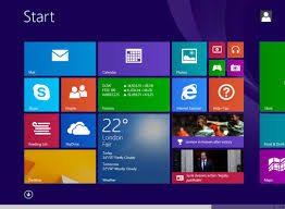 Menu Iniciar do Windows 8