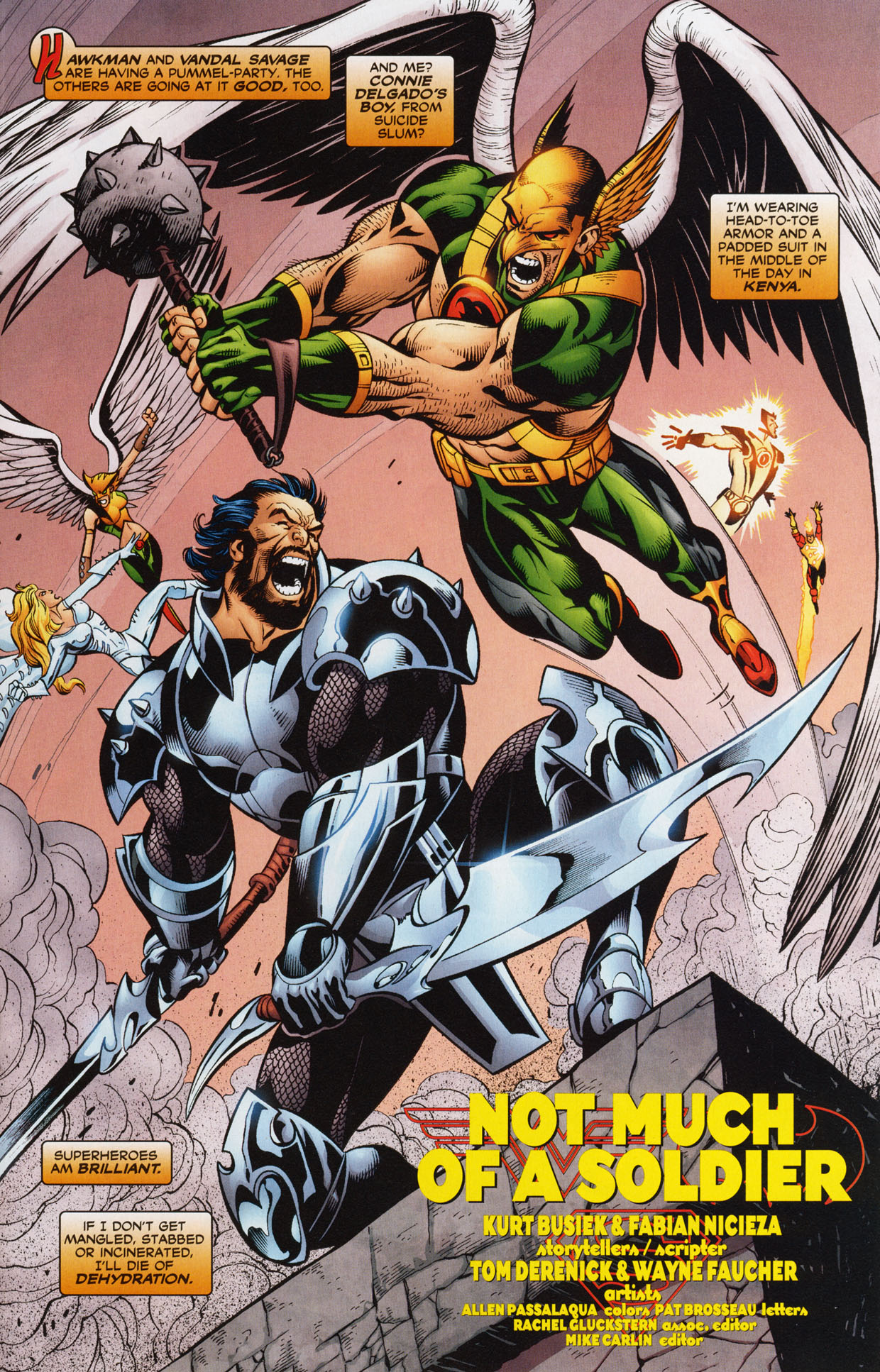 Read online Trinity (2008) comic -  Issue #34 - 18