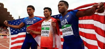 Fakta Mencengangkan Tentang Lalu Muhammad Zohri, Juara Dunia Lari 100 meter