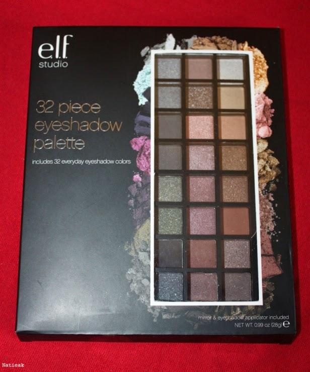 E.L.F et sa palette de maquillage 32 couleurs