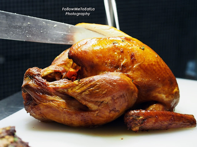 Freshly Roasted Turkey On The Platter