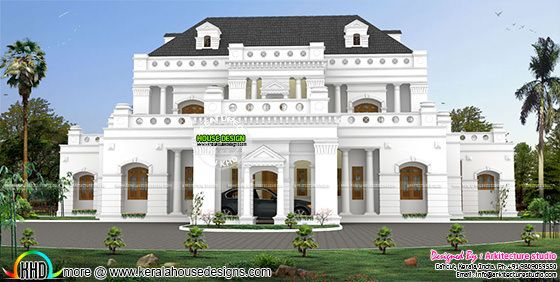 5850 sq-ft Colonial style luxury home