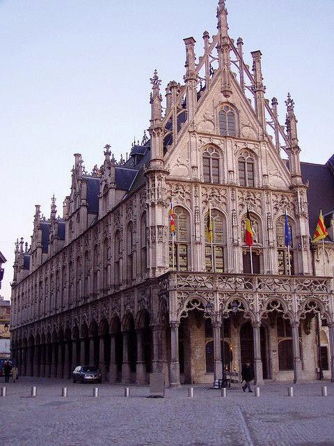 10 Best Places to Holiday in Belgium (100+ Photos) | Stadhuis van Mechelen - Antwerp, Belgium