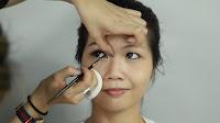 Inner Double Folded Eyelid Makeup -Don't forget the inner corner and inner rim of the eye for perfect eye liner.