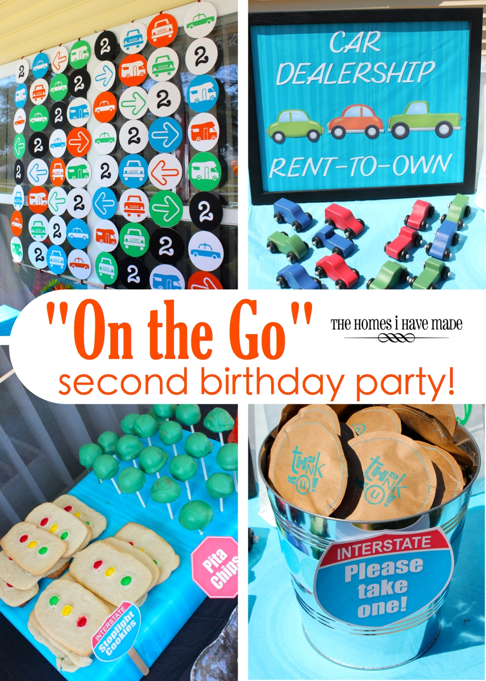 On The Go Second Birthday Party