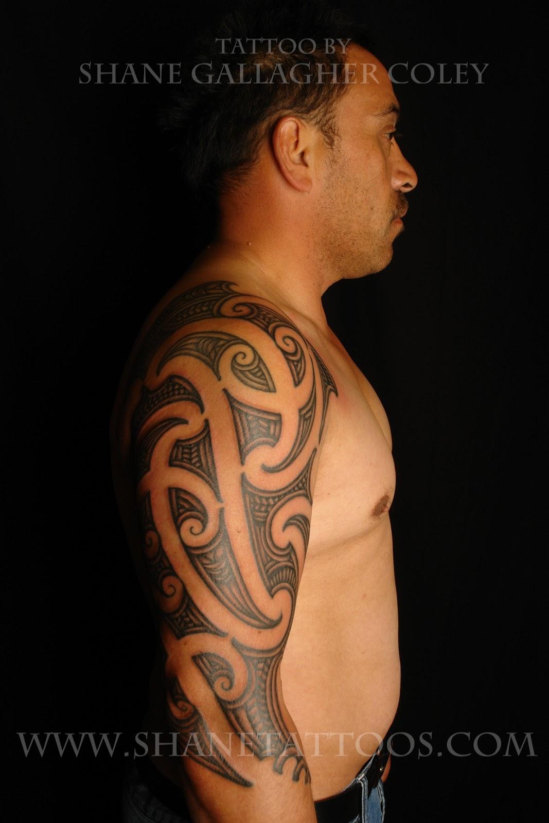 Moko Tattoo Maori: [Maori] Maori Sleeve Tattoo/Ta Moko