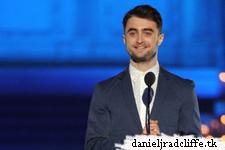 Daniel Radcliffe presents at Logo TV's Trailblazers event