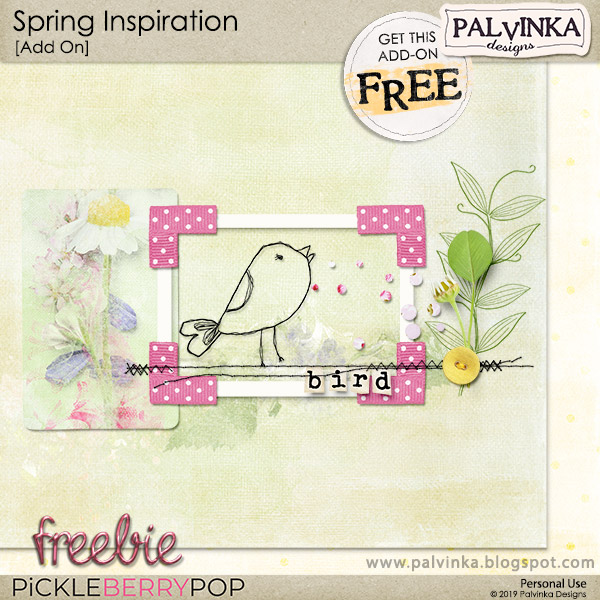 New Berry Big Deal - Spring Inspiration Collection and Freebie