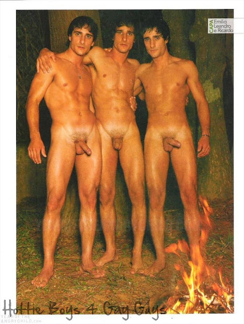 Really. All nude male twins