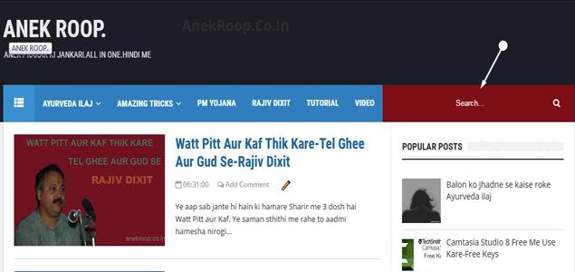 template design kare result