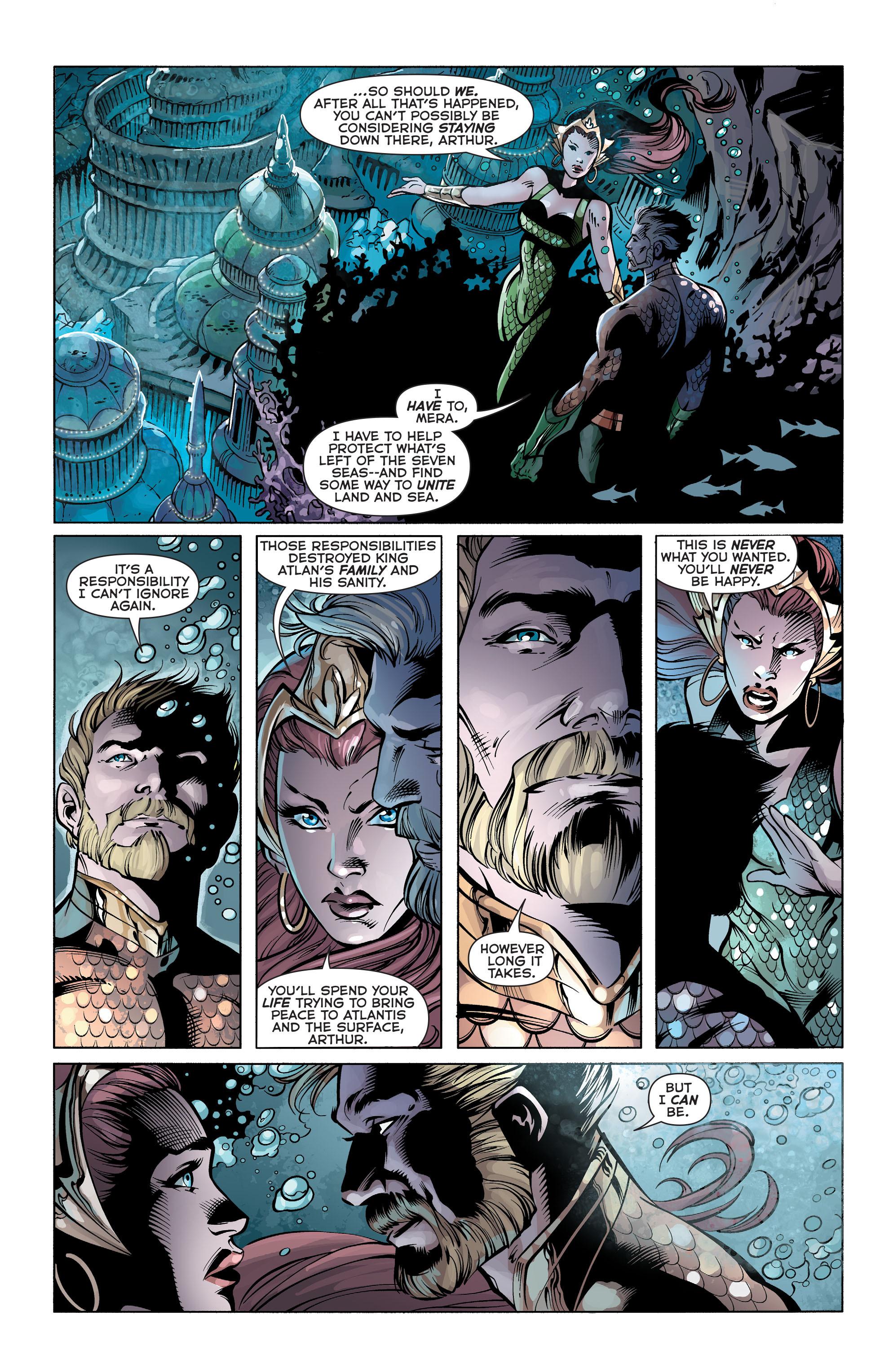 Read online Aquaman (2011) comic -  Issue #25 - 20