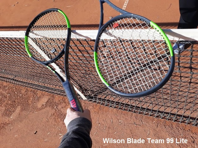 Wilson Blade Team 99 Lite tennis racket - better than I expected