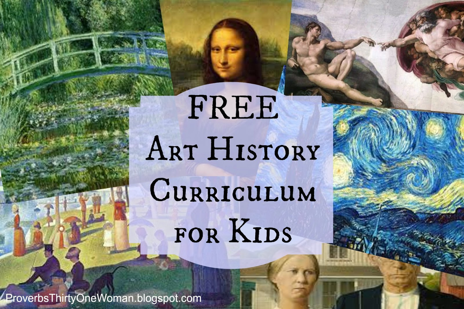 Introducing Free Art History Curriculum For Kids