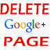 How To Delete Your Google Plus Page