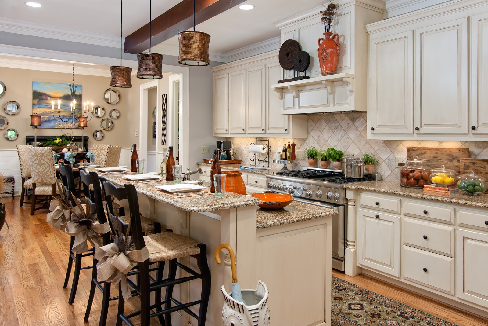 Great Interior Design Ideas For Kitchen And Living Room - Fitted kitchen design ideas