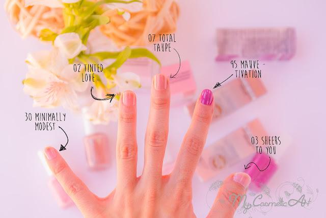 Treat, Love & Color de Essie: tratamiento y color en un solo producto.