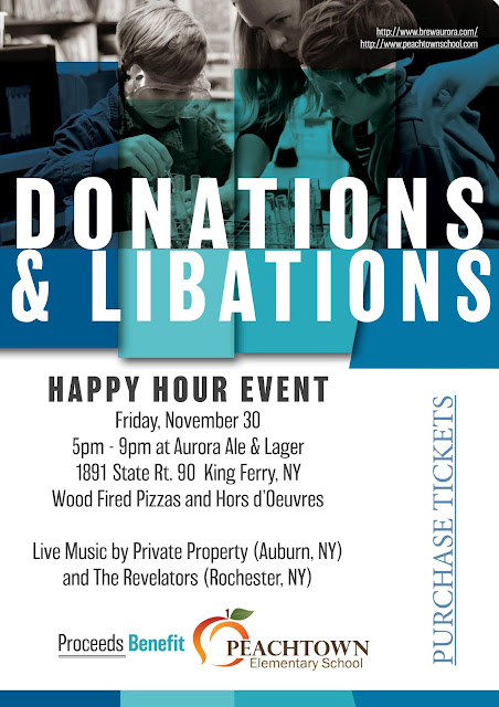 Donations & Libations Happy Hour Fundraiser Peachtown Elementary School