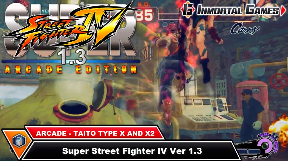 super street fighter iv arcade edition taito type x2 rom