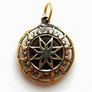купить кулон алатырь куплю славянский оберег крест сварога