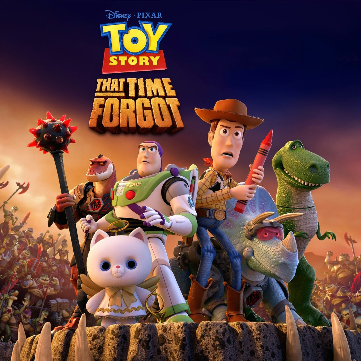 Toy Story That Time Forgot Digital Storybook Coming Soon