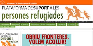 http://www.santacolomadecervello.cat/refugiats.html