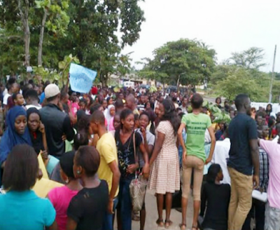 Fed Poly Idah Shut Down By Management Following Students' Protest