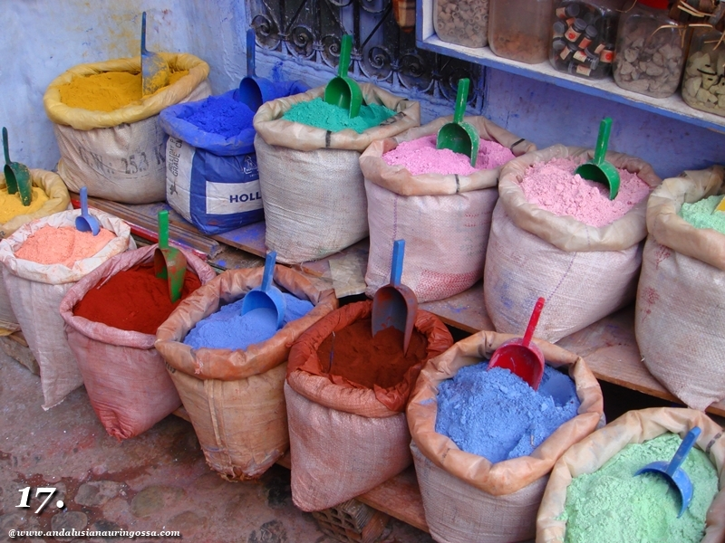 Andalusian auringossa-ruokamatkablogi_tori_Marokko