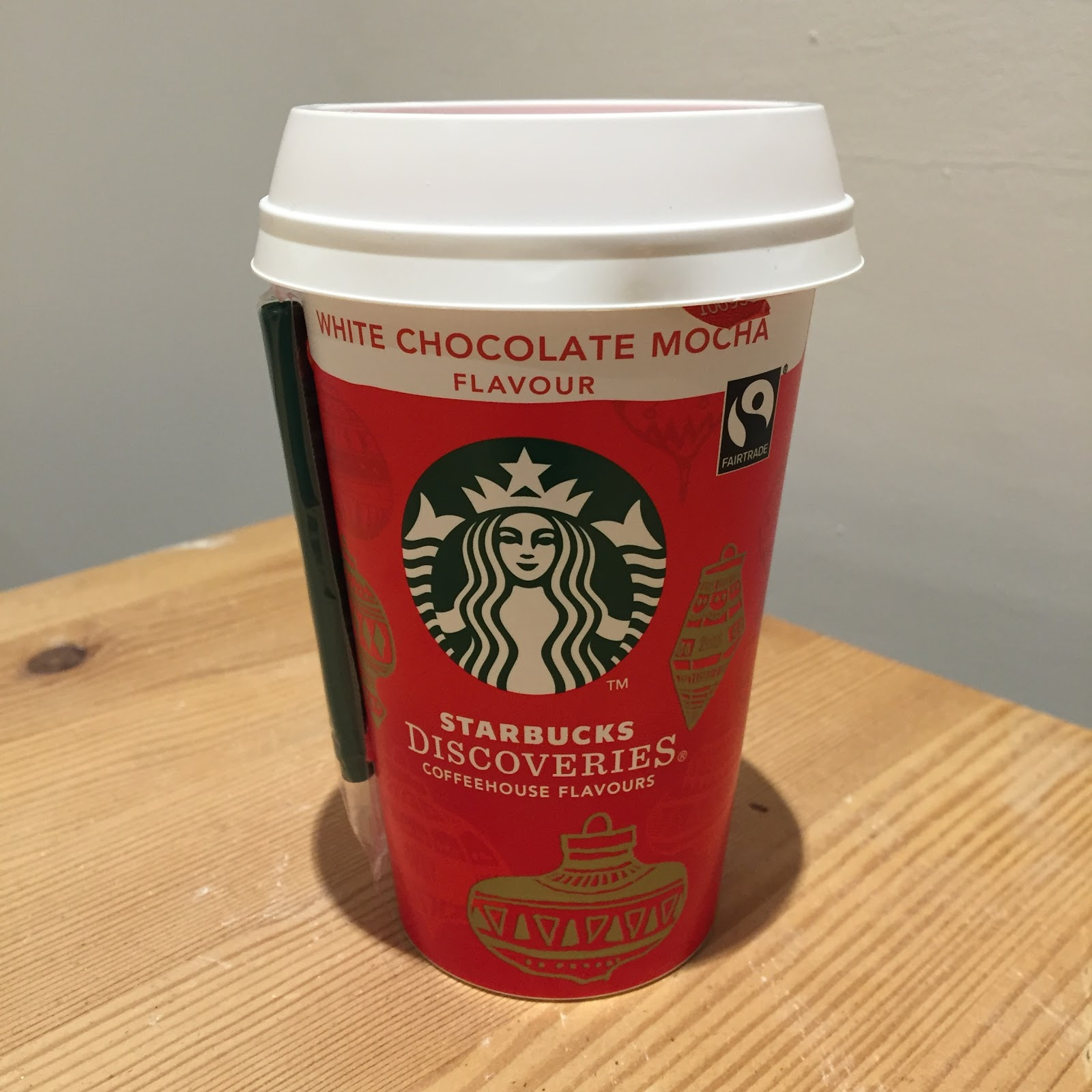 Amy Seeks New Treats: NEW Starbucks White Chocolate Mocha at ASDA