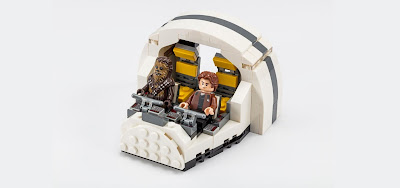 San Diego Comic-Con 2018 Exclusive Solo: A Star Wars Story Millennium Falcon Cockpit LEGO Set