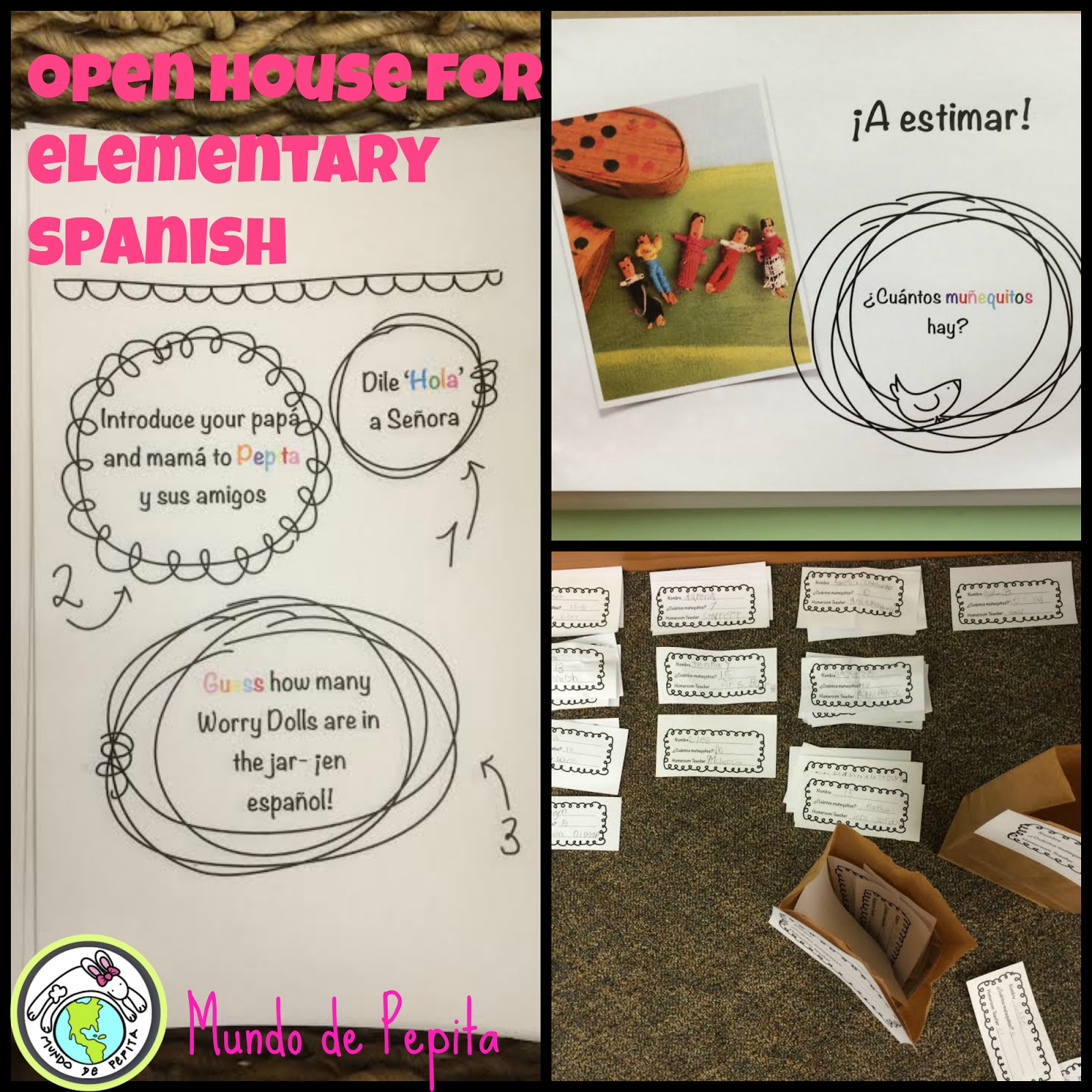 Mundo de pepita open house activities for elementary for Open house spain