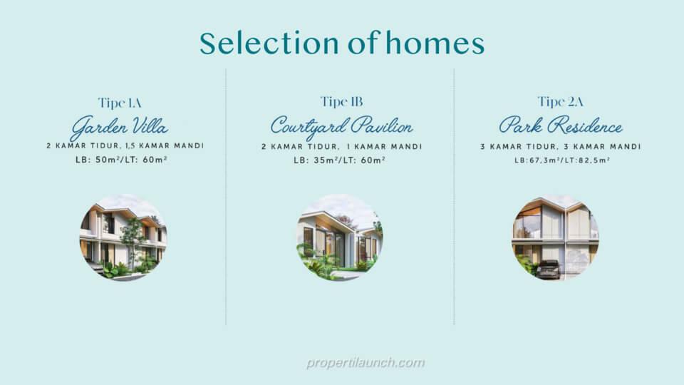 3 Pilihan Rumah Waterfront Estate Lippo Cikarang