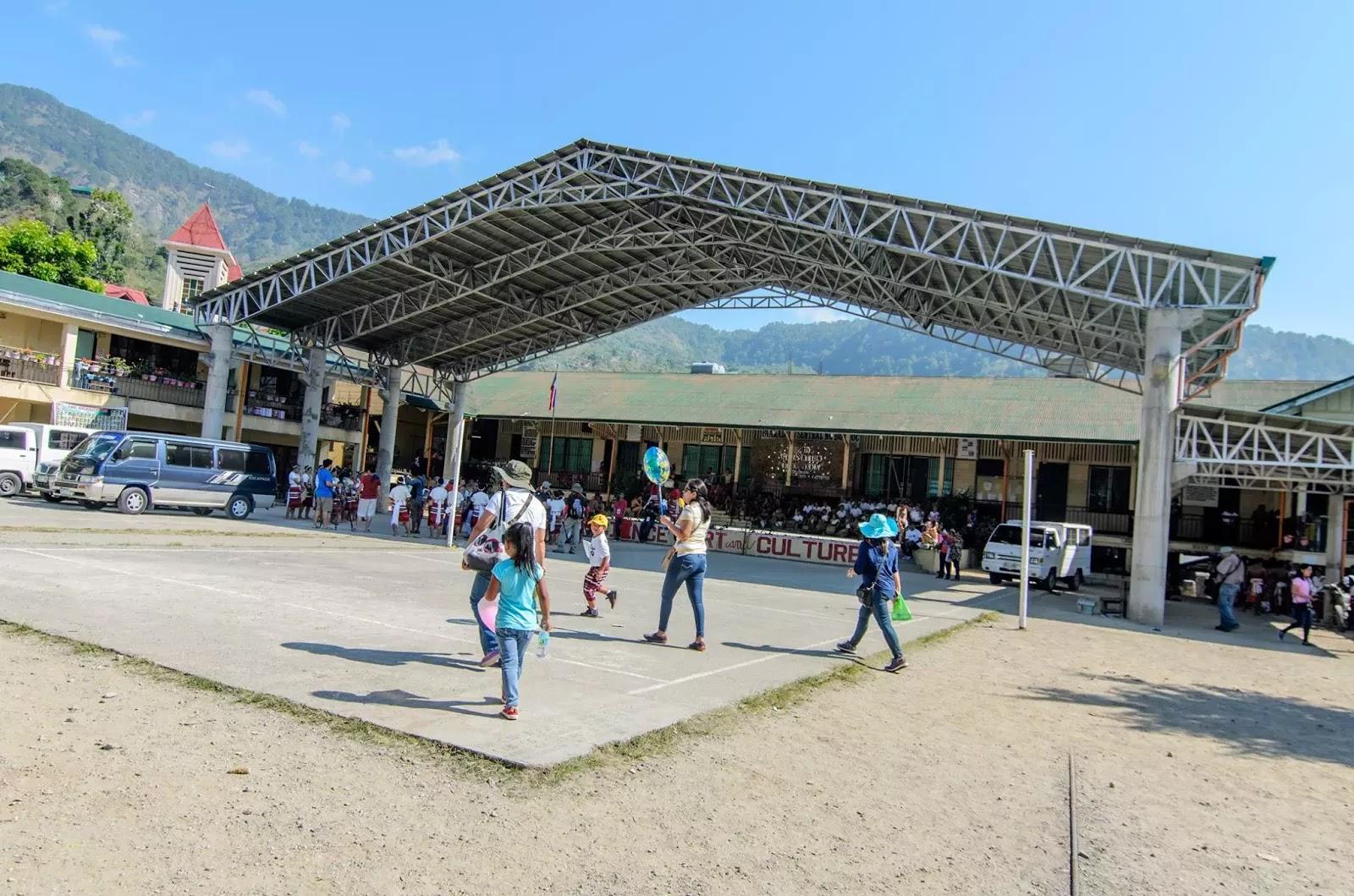 Bontoc Central School Mountain Province Cordillera Administrative Region Philippines