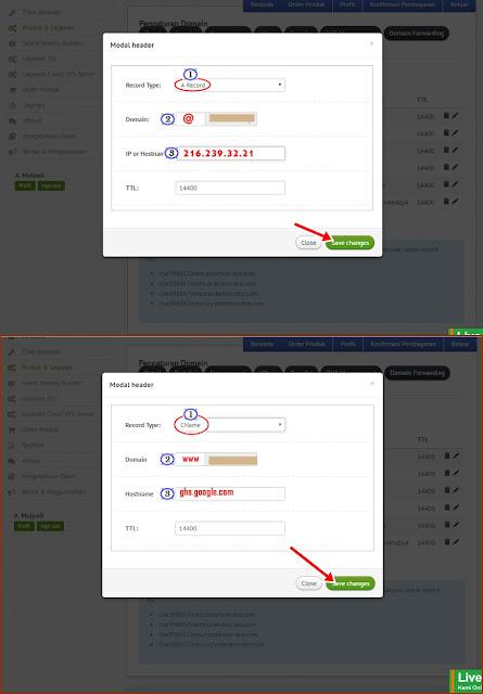 Panduan Setting Domain dan Menu DNS Management di Web NiagaHoster