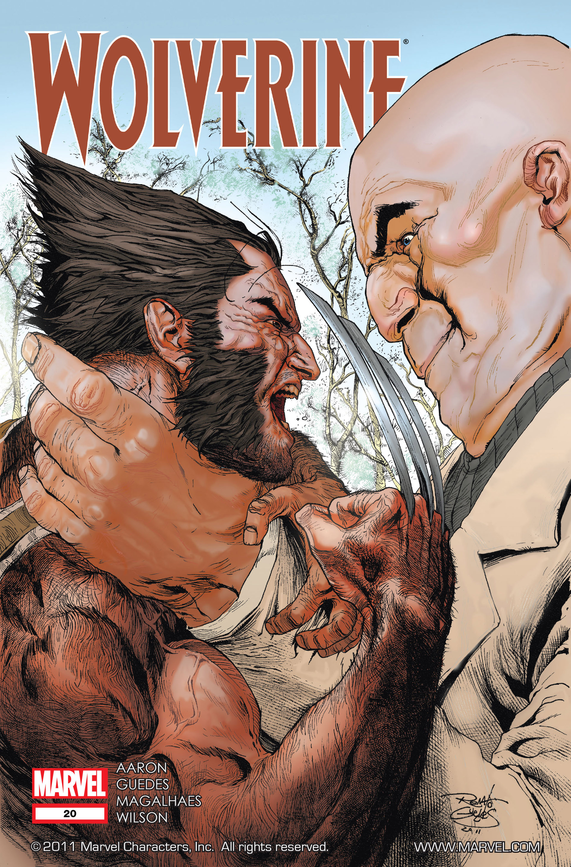 Wolverine (2010) 20 Page 1