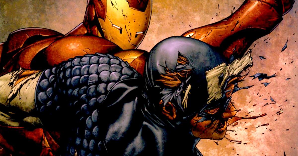 Iron man vs captain america comics hd wallpaper cartoon - Iron man cartoon hd ...
