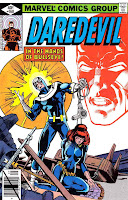 Daredevil v1 #160 bullseye marvel comic book cover art by Frank Miller
